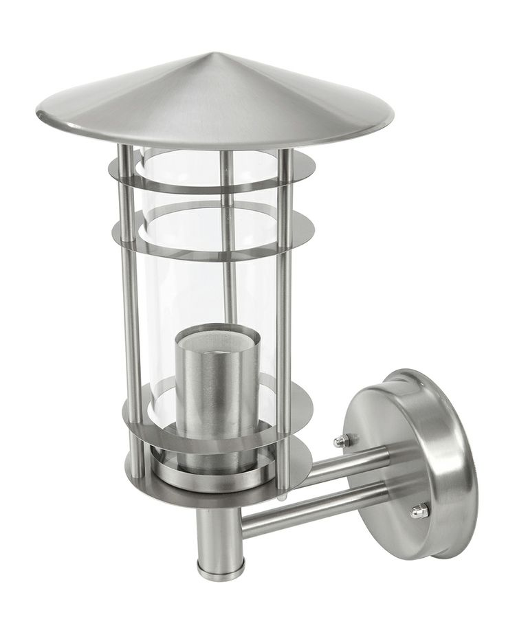 Lawson Exterior Wall Light in Stainless Steel
