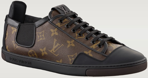I WANT! Size 13, please. :)   - Louis Vuitton Sneakers [ http://www.louisvuitton.com/front/eng_US/Collections/Men/Shoes/products/Slalom-sneaker-in-Monogram-Canvas-868755 ]
