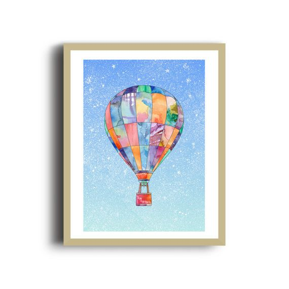 Check out this item in my Etsy shop https://www.etsy.com/uk/listing/398038007/hot-air-balloon-art-print-digital-mixed