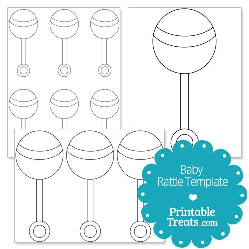 Printable Baby Rattle Template From Printabletreats Com