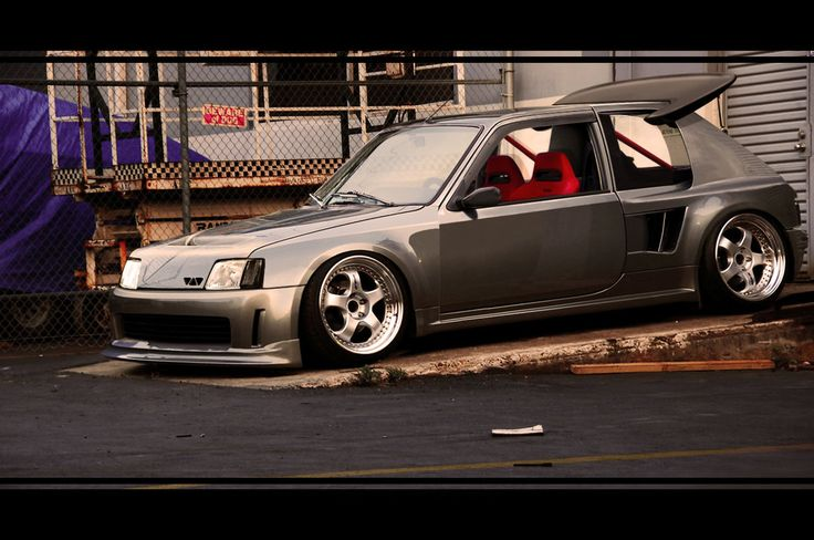 peugeot 205 t16 by ROOF01 on deviantART