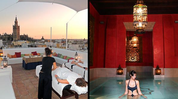 Aire de Sevilla, a 16th-century mansion turned public bathhouse: 16Th Century Mansion, Massage, Spare Time, Photo, Public Bathhouse