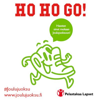 HO HO GO! Ota varaslähtö jouluun ja ilmoittaudu hauskaan Joulujuoksutapahtumaan. Early bird hinta voimassa 31.8. saakka. Lähtö Linnanmäeltä 15.11. Matka 10 km. www.joulujuoksu.fi   #joulujuoksu #juoksu #joulu #lapset #juoksutapahtuma #tapahtuma #juoksukilpailu #kilpailu #juokseminen #1002 #lasta #jonossa #hohogo