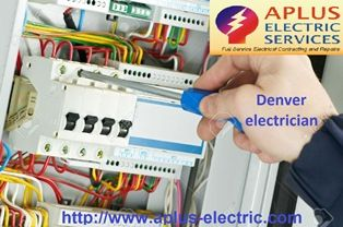 Aplus electric company is one of the most successful company in Denver, we provide the best services for you. To solve electric related difficulty is big task, unforeseen short circuit or any subject in within of any device may be major thing that should be solving quickly by Denver electrician.