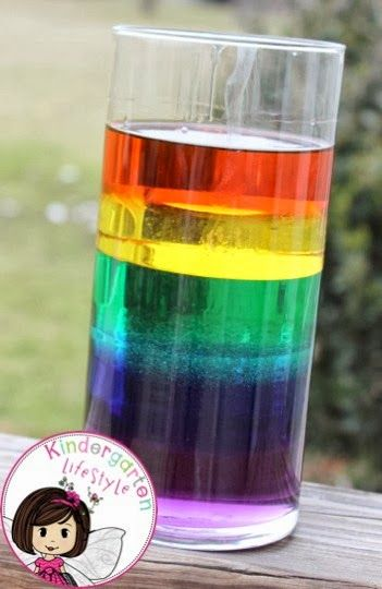 Kindergarten Lifestyle: Liquid Rainbow