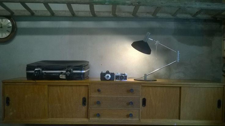 retro wandmeubel / tv-meubel. www.als-nieuw.com