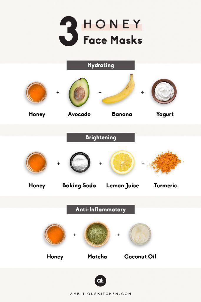 3 Diy Honey Face Masks Recipe Diy Honey Face Mask Honey Face