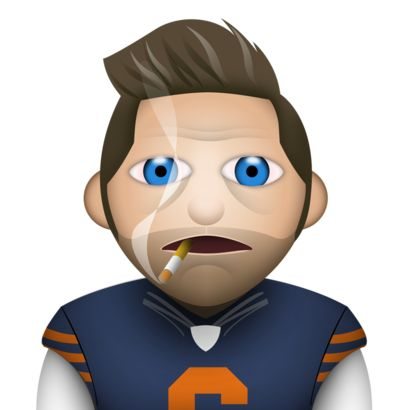 Smokin' Jay Cutler Emoji