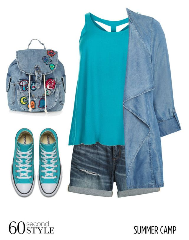 """""""Untitled #363"""" by xio24 on Polyvore featuring Canvas by Lands' End, New Look, Evans, Topshop, summercamp and 60secondstyle"""