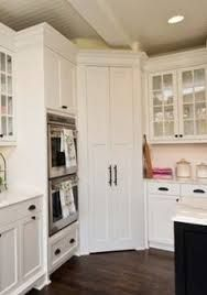 Image result for kitchen layout with corner pantry