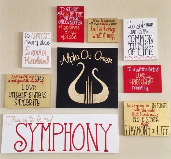 And to let my lyre send forth the cords of love, unselfishness, sincerity. This is to be my symphony.
