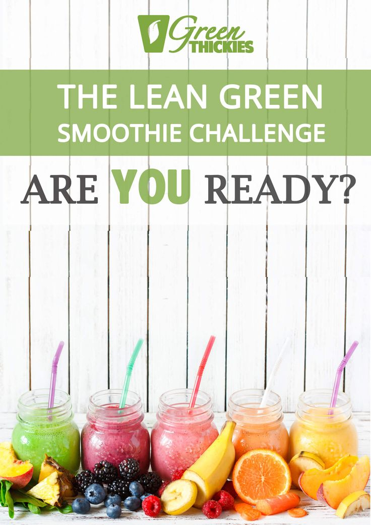 Join me on The Lean Green Smoothie Challenge for an easy healthy 7 day detox.
