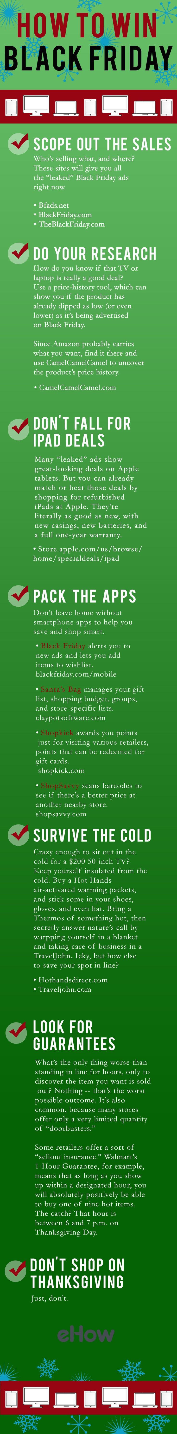 How To Win Black Friday [infographic