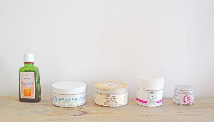 Crèmes naturelles anti-vergetures grossesse (chouchoute inside!) -