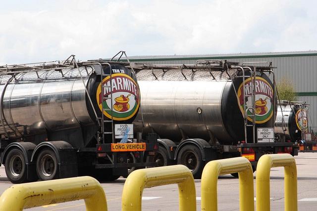 Marmite Lorry transport Tankers - Impressive!!!