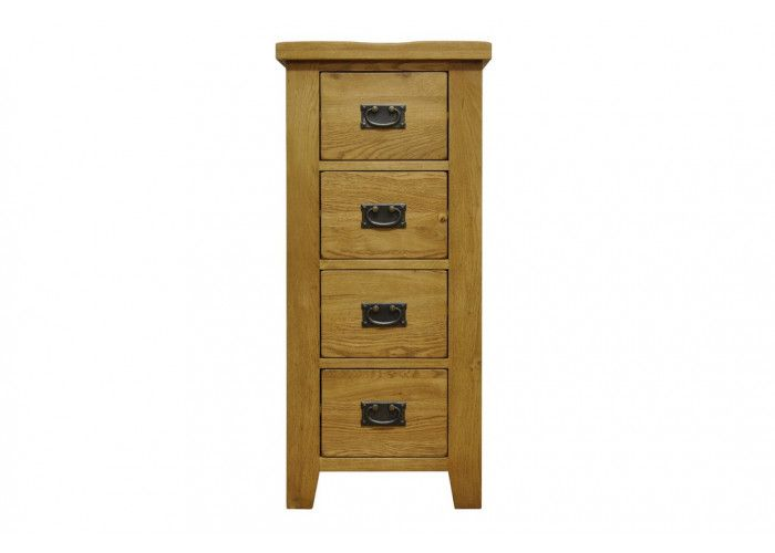 http://www.bonsoni.com/stanmore-waxed-oak-finish-four-drawer-narrow-chest-of-drawers-by-kaldors   http://www.bonsoni.com/stanmore-waxed-oak-finish-four-drawer-narrow-chest-of-drawers-by-kaldors This Four Drawer Narrow Chest of Drawers is best to accommodating apartments, starter homes and family residences with equal aplomb, this beautiful oak and oak veneer collection possesses a tone that gives each piece of furniture a warm glow and a rustic edge.  Dimension (H x W x D): 100 x 45 x 36cm…