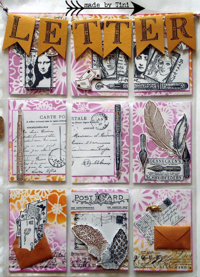 Arts by Tini My Pocket Letters 1008