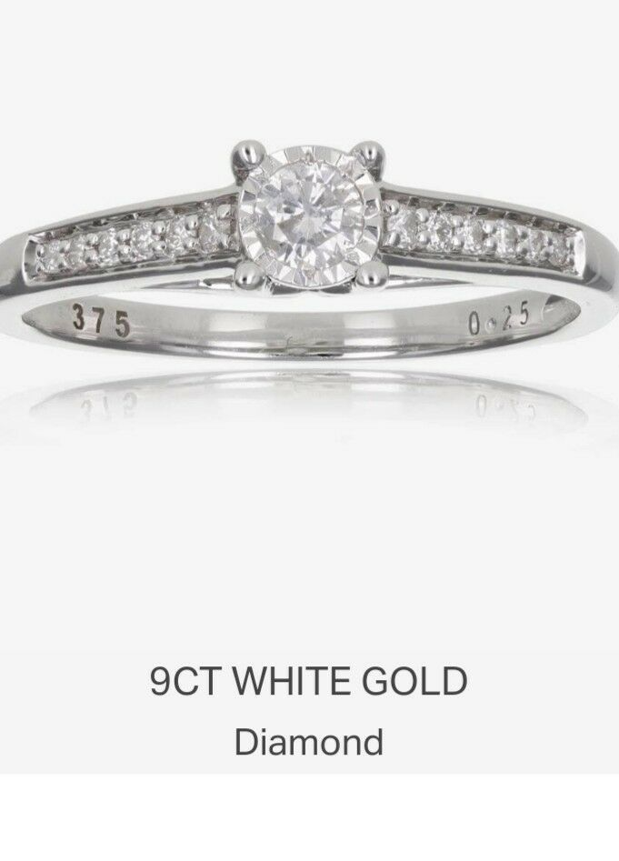 Engagement Rings From Ebay Uk Engagementrings Rings Engagement Real Diamond Solit Diamond Solitaire Engagement Ring Solitaire Engagement Ring Real Diamonds