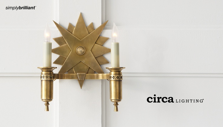 Simply Brilliant Home Lighting Lamps, Accessories & Visual Comfort at Circalighting.comHome Lights, Miguel Double, Lights Fixtures, Trav'Lin Lights, John Rosselli, Chicago, Double Sconces, Design, Circa Lights