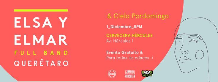 Cielo Pordomingo en Concierto - #Concierto #Show #Electronica #Folktronica #Festival #CieloPordomingo #MusicFest #ElsaYElmar #Queretaro #Hercules #CerveceraHercules