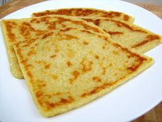 Scottish Potato Scones usually served with a traditional Scottish cooked breakfast