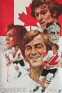 1976 canada cup posters - Team Canada - Google Search