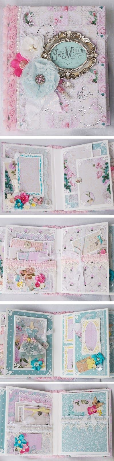 "Terry's Scrapbooks: Lemon Craft - ""Dreamy Mornings"" mini album"