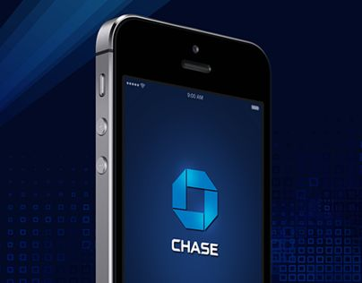 Chase App Redesign. Great mood in this splash screen.