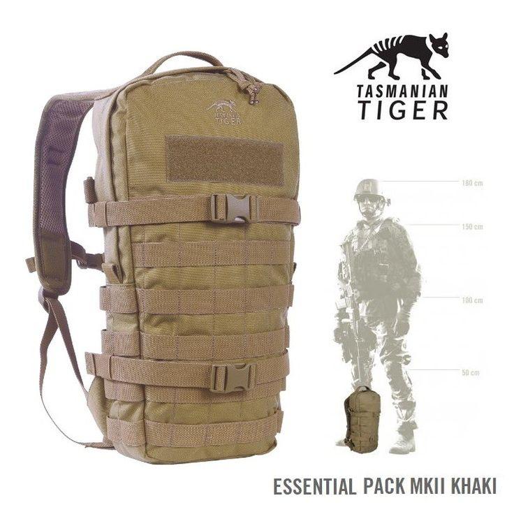 Tasmanian Tiger Essential pack khaki - 9 litri