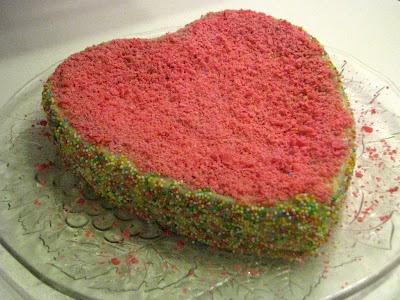 San Valentine's Cake --- Sevgililer Günü Pastası --- Torta di San Valentino   Thermomix / Bimby