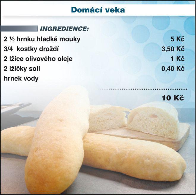 Levně a chutně s Ladislavem Hruškou - Domácí veka Do mísy přesejte mouku…