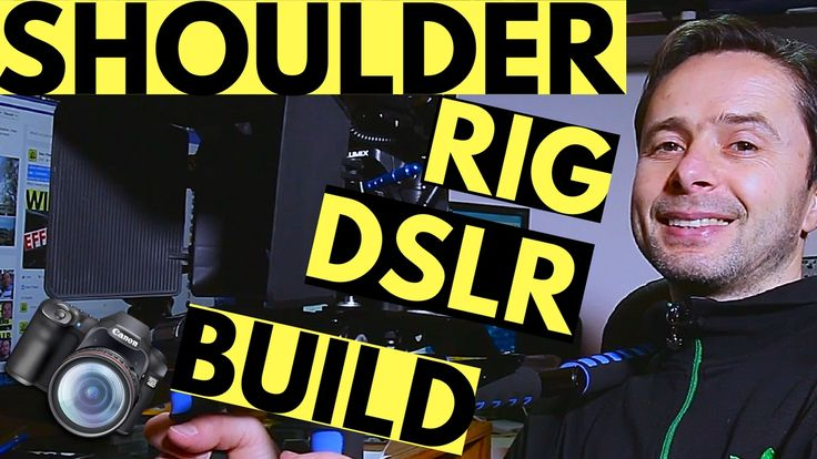 How to Build a Cheap DSLR Camera Shoulder Rig for Filmmaking - Beginners...