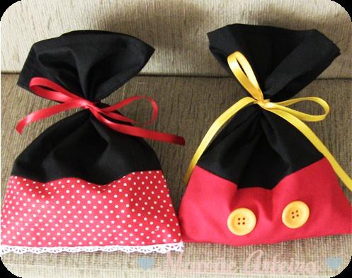 Mamãe Arteira: Kit escola a Casa do Mickey: Lembrancinhas