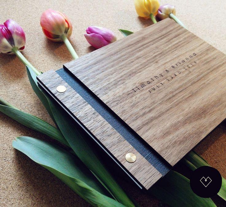 8 besten fotobuch g stebuch hochzeit holz handgebunden fotoalbum bilder auf pinterest. Black Bedroom Furniture Sets. Home Design Ideas