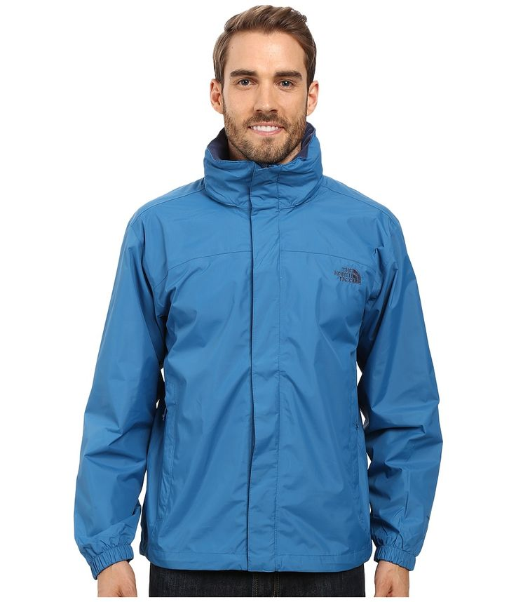 THE NORTH FACE THE NORTH FACE - RESOLVE JACKET (BANFF BLUE) MEN'S SWEATSHIRT. #thenorthface #cloth #