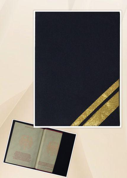 Weiteres - Passhülle Purser I Lufthansa - ein Designerstück von reversibleT bei DaWanda