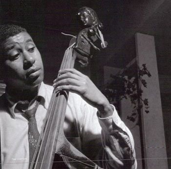 Paul Chambers 22/04/1935 – 4/01/1969  Bass  Photograph by Francis Wolff