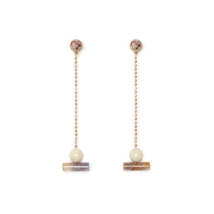 Resin Actuality Earrings // PRE-ORDER