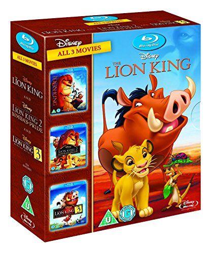 The Lion King Trilogy 1-3 [Blu-ray] 1 2 3 Box Set [UK Import] @ niftywarehouse.com #NiftyWarehouse #Disney #DisneyMovies #Animated #Film #DisneyFilms #DisneyCartoons #Kids #Cartoons