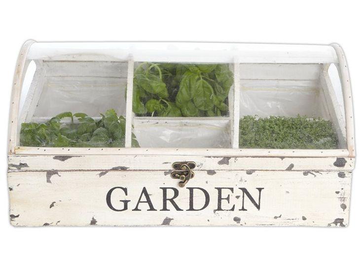 Planten en kruiden kweken is helemaal hip! In dit leuke kweekbakje staan je kruiden er prachtig bij!