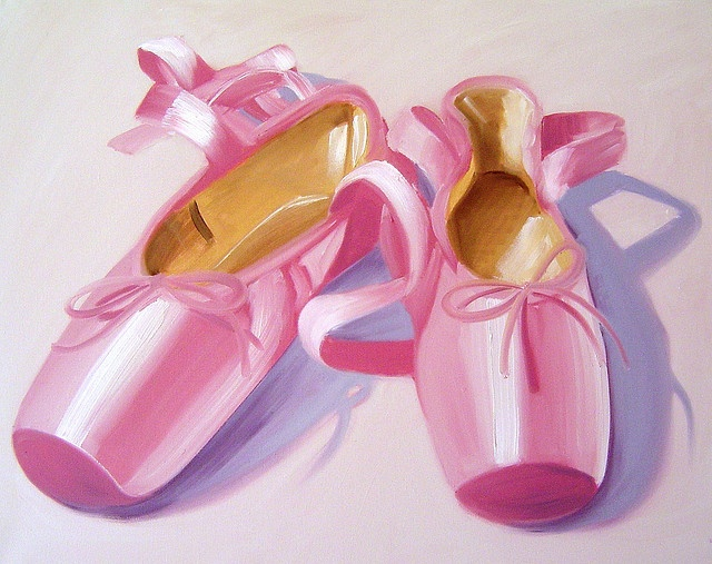 Pointe shoes!!!