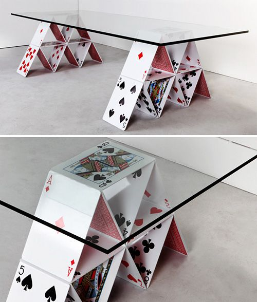 House of Cards Coffee Table