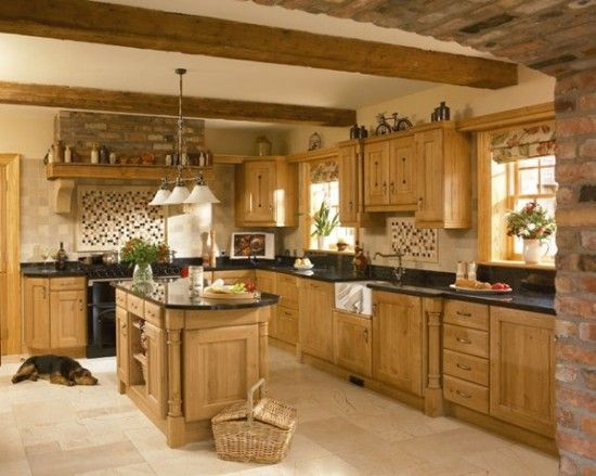 Country paint themes country kitchen ideas uk home for Country kitchen paint ideas