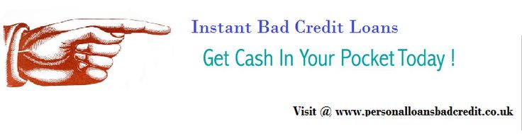 Instant bad credit loans are specifically designed for those who are rejected for the loan due to bad credit score. These loans offer cash without any hassles and take less of time to process. This makes it the most preferred loan option amongst people who often face financial crunches and need urgent solution. www.personalloansbadcredit.co.uk/instant_bad_credit_loans.html