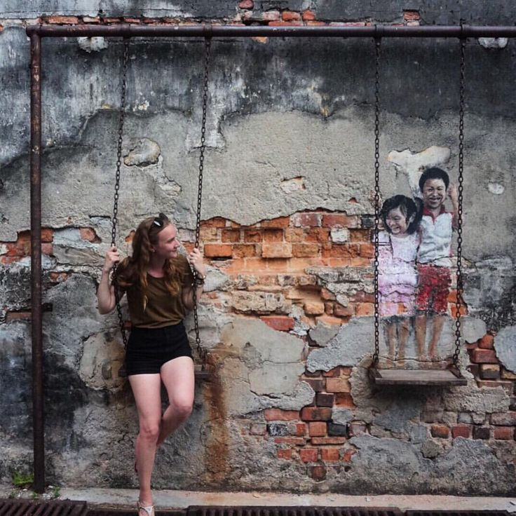 """Discovering the Street Art of Penang, Malaysia - 86 Likes, 4 Comments - Sarah  (@rangaadventures) on Instagram: """"i absolutely loved exploring the street art of penang when i visited last week. so good ❤❤…"""""""