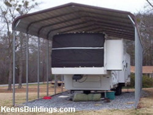 RV Carport Prices | 18 x 31 RV Metal Carport - Steel Buildings