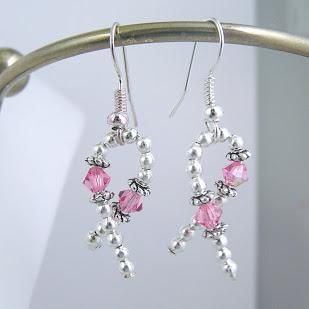 Awareness Crystal Earrings Choose Color by ShellysUniqueJewelry, $12.00 USD