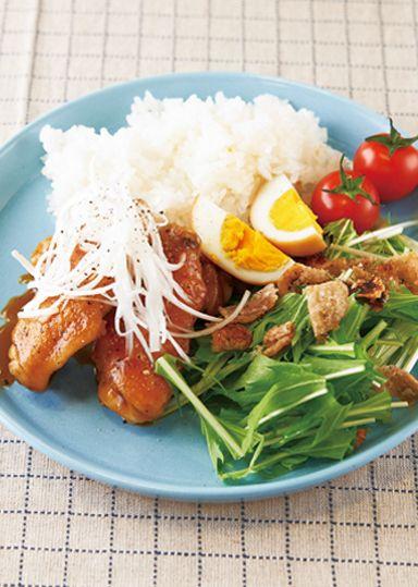 鶏肉のパリパリあんかけ焼き