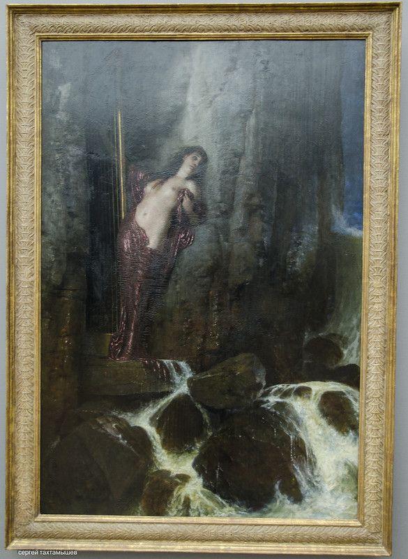 Национальная галерея Берлина. Продолжение - vita_colorata Арнольд Бёклин: Морской прибой.