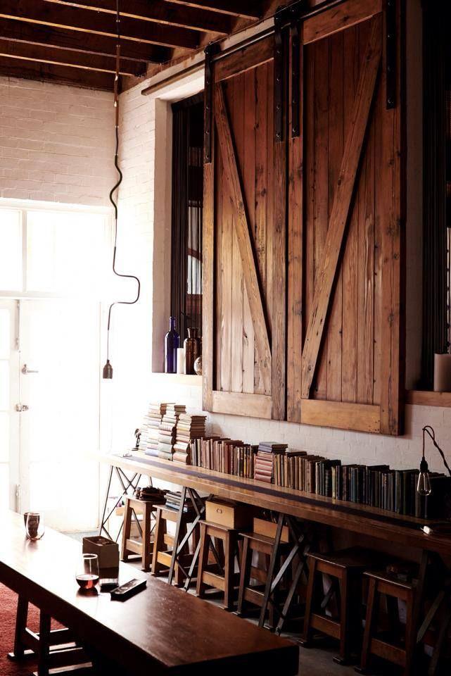 Kenney Pierce Timber  - Recycled Oregon Barn Style Shutters made by Kenney Pierce Timber for Project 3488 in Warburton. visit them on facebook: https://www.facebook.com/projekt3488